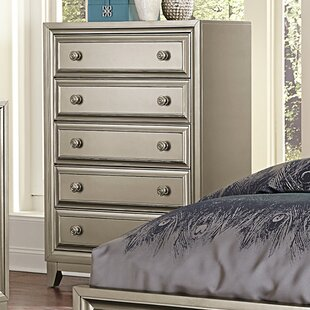 Willa Arlo Interiors Bromford 5 Drawer Chest