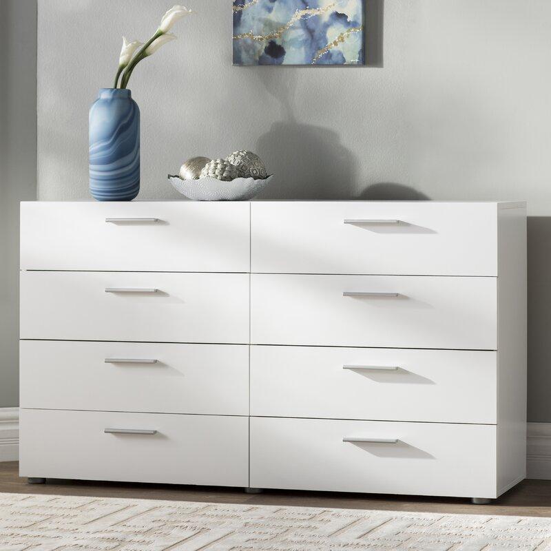 Dendron 8 Drawer Double Dresser
