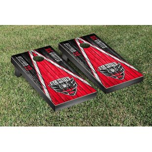 Victory Tailgate MLS Triangle Weathered Version Cornhole Game Set