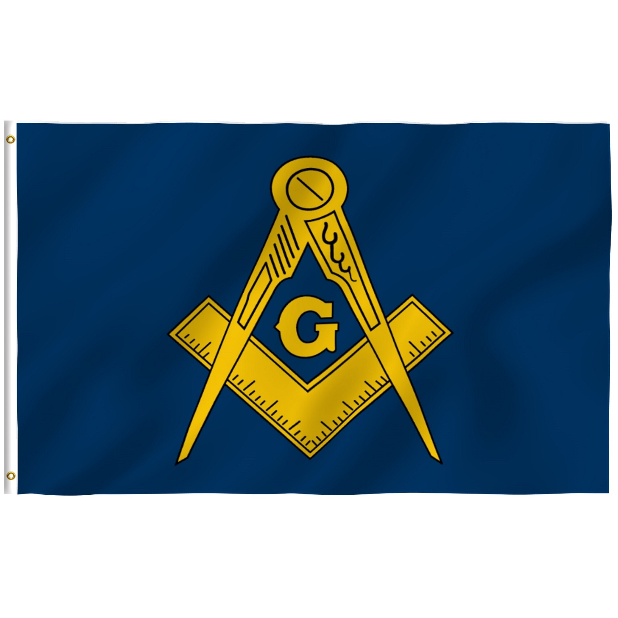 Anley Masonic 2 Sided Polyester 36 X 60 In House Flag Wayfair