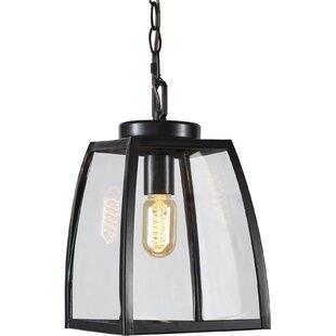 Outdoor hanging lights modern contemporary designs allmodern silver gulch 1 light outdoor pendant aloadofball Choice Image
