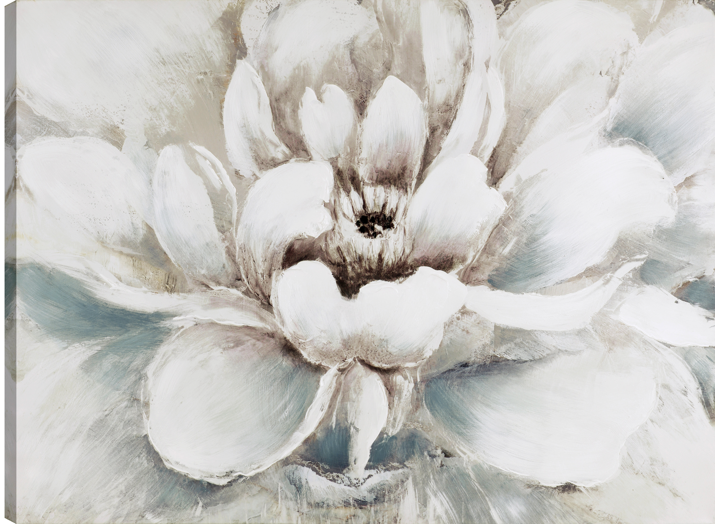 Ophelia co the white flower oil painting print on wrapped the white flower oil painting print on wrapped canvas wayfair mightylinksfo