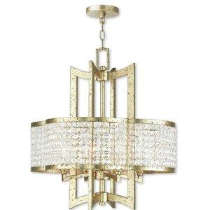 Rickmansworth 4-Light Crystal Chandelier