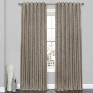 Kumail Geometric Max Blackout Thermal Rod Pocket Single Curtain Panel by Ophelia & Co.