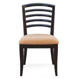 Latitude Run Sofian Wood Side Chair in Flannel