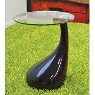 Depaul Tear Drop End Table by Orren Ellis