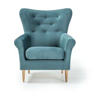 Dark Green Armchair Wayfair Co Uk