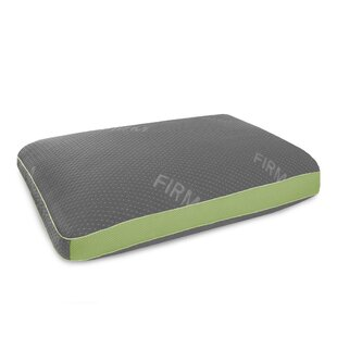 Shredded Firm Memory Foam and Fiber Pillow