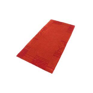 Gamelin Hand Hooked Red Indoor/Outdoor Rug By Bloomsbury Market