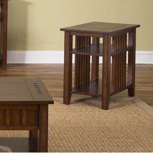 Kaela Chairside Table by Mistana