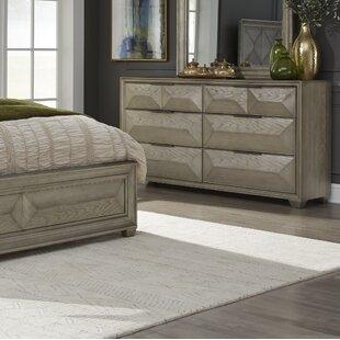 Daley 6 Drawer Standard Dresser by Mercer41