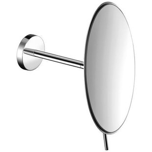 Korman Round Adjustable Makeup/Shaving Mirror By Symple Stuff