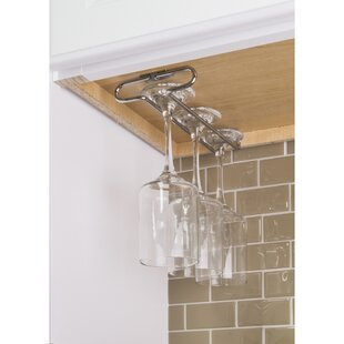 Brushed Nickel Wine Rack Wayfair
