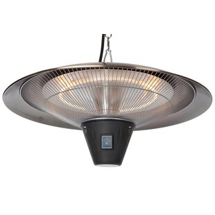 Gunnison Halogen 4100 BTU Electric Hanging Patio Heater By Fire Sense