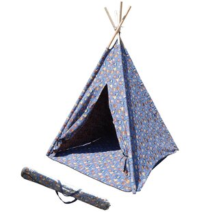 Children's Play Teepee with Carrying Bag by Mid-America Outdoor Supply