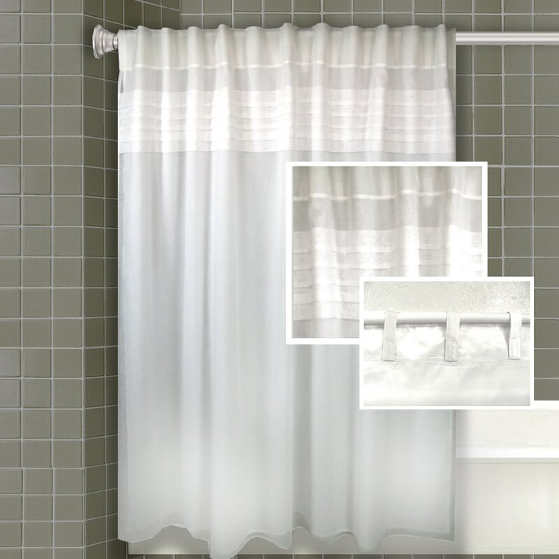 Merle All In One Shower Curtain Set