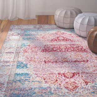 Remington Cherry Pink Area Rug by Bungalow Rose