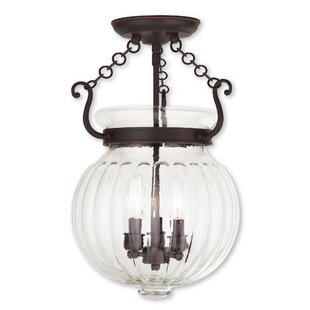 Breakwater Bay Crestfield 3-Light Urn Pen..