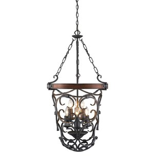 Cowan 6-Light Urn Pendant by Loon Peak