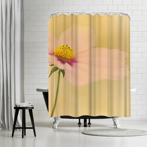 East Urban Home Mirja Paljakka Cosmos Flower Sunset Shower Curtain Wayfair