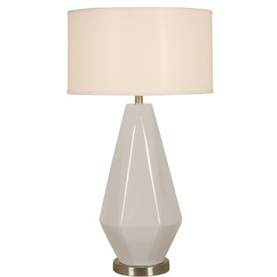 Compare & Buy Long Diamond Ceramic 32 Table Lamp By Mario Industries
