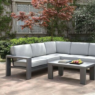 Aaru 2 Piece Sectional Seating Group with Cushions