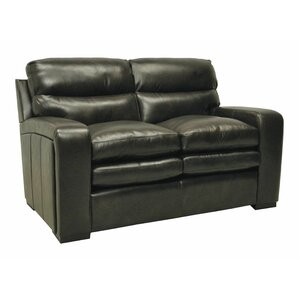 Leather Loveseat by Wildon Home ?