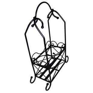2 Bottle Tabletop Wine Bottle Rack by Pan..