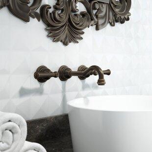Jacuzzi® Barrea Wall Mounted Bathroom Faucet