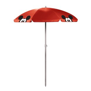 ONIVA™ Mickey Mouse 5.5' Portable Beach Umbrella