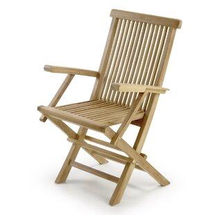 Loyola Folding Dining Arm Chair Image