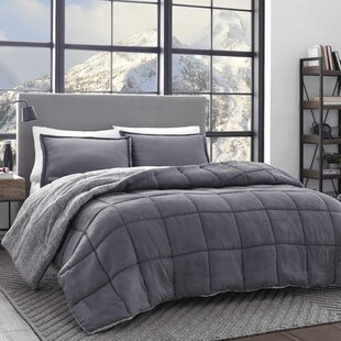 Sherwood Reversible Comforter Set by Eddie Bauer