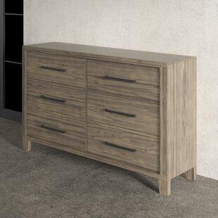 Krum 6 Drawer Double Dresser by Greyleigh