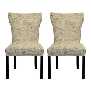 Sole Designs Newsletter Accent Chair (Set of 2)