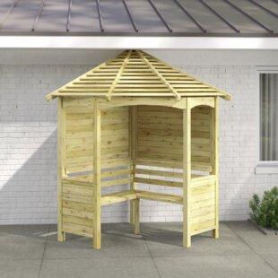 Esteves Wooden Arbour By Sol 72 Outdoor