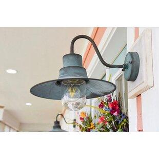 Gatewood LED Outdoor Barn Light by Longsh..