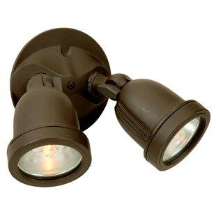 Symple Stuff Outdoor Security Spot Light