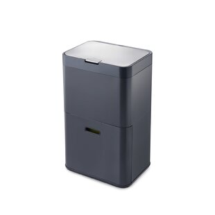 Intelligent Waste 12.7-Gal. Multi-Compartments Trash & Recycling Bin