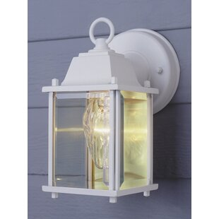 Charlton Home Brooker 1-Light Outdoor Wall Lantern
