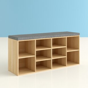 Wooden Storage Bench By Hashtag Home