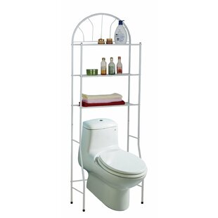 """Space-Saving 23"""" W x 66"""" H Over the Toilet Storage by"""