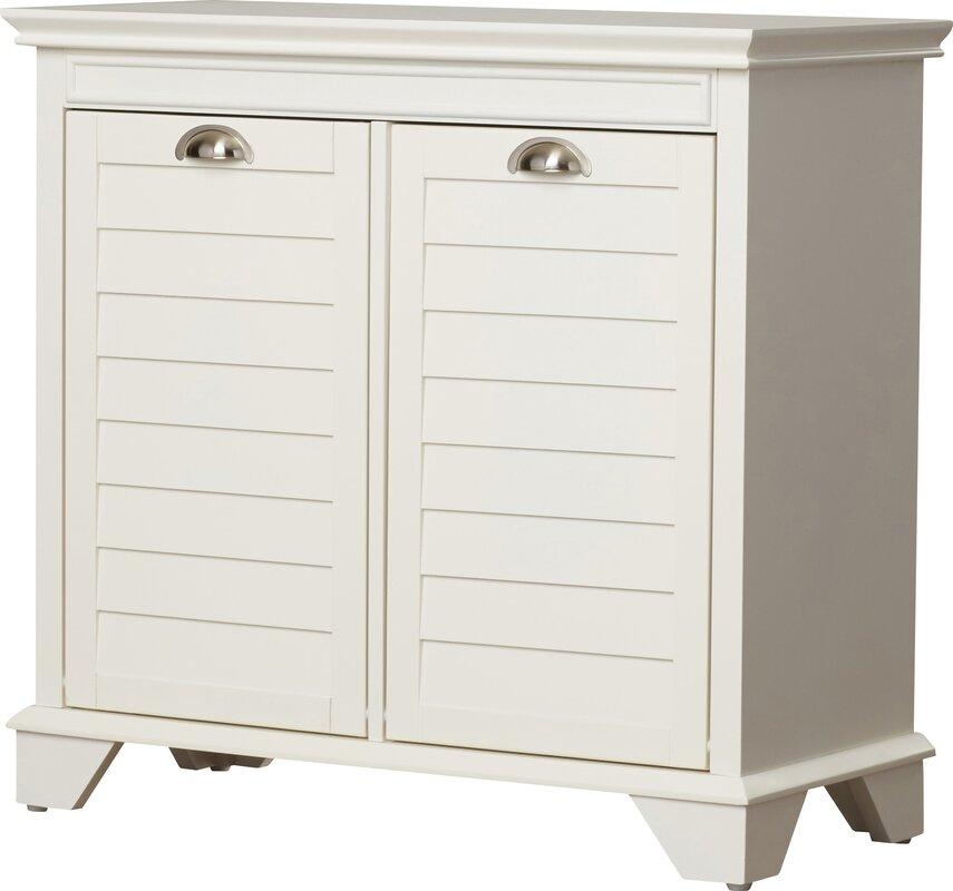 Beachcrest Home Martel Cabinet Laundry Hamper & Reviews | Wayfair