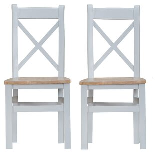 Buckley Solid Wood Dining Chair (Set Of 2) By Beachcrest Home