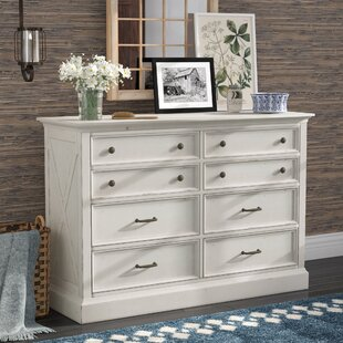 Moravia 8 Drawer Double Dresser