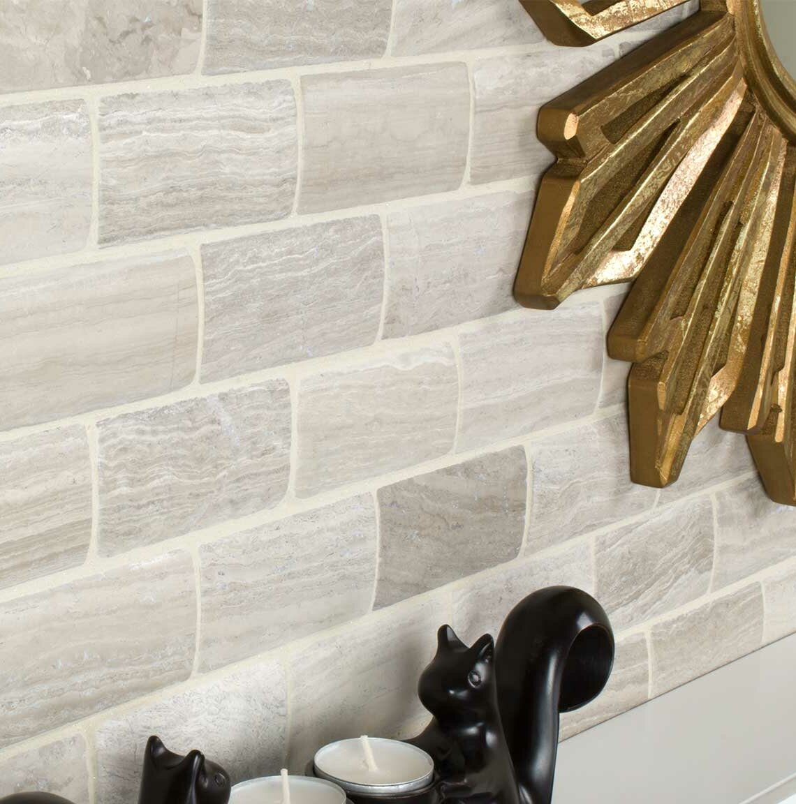 Natural Stone Wood Look Tile