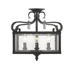 Frankfort 4-Light Semi Flush Mount by Birch Lane? Heritage
