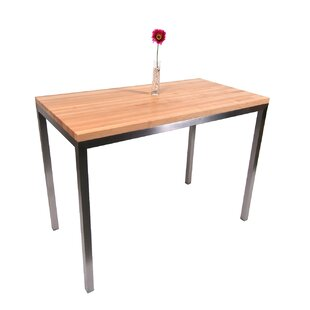 Metropolitan Designer Prep Table with Wood Top John Boos