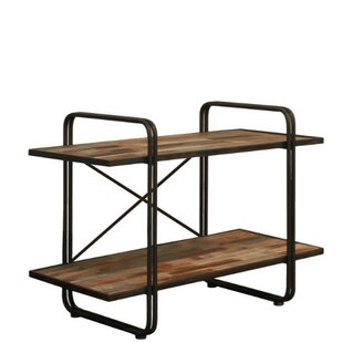 Duffy 2-Tier Rectangular Etagere Bookcase