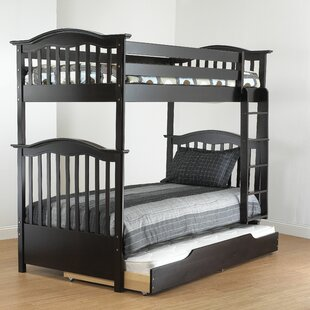 Curved Twin Over Twin Bunk Bed by Orbelle Trading Discount