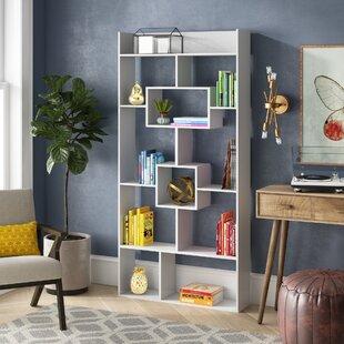 Canal Street Geometric Bookcase by Ivy Bronx